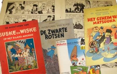 Zitten er duizenden euro's in je boekenkast, zonder dat je het weet? Zoveel zijn oude strips waard