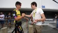 """Stig Broeckx voor het eerst terug tussen de renners in de Tour: """"Overwinning dat ik hier sta"""""""