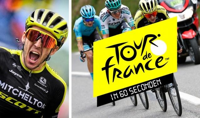 De Tour in zestig seconden: Simon Yates nu ook lid van select clubje, Rohan Dennis verhoogt winstkansen Wout van Aert