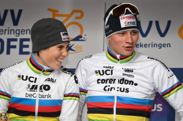 Sanne Cant wil Wout van Aert en Mathieu van der Poel achterna