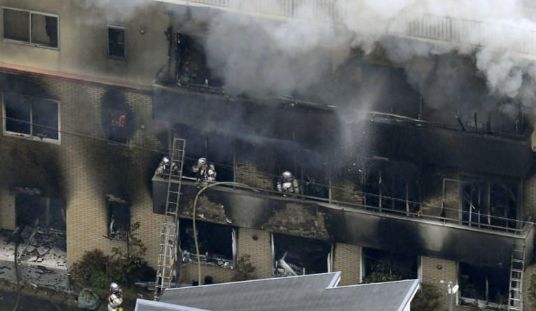 24 doden en 35 gewonden na brandstichting en explosie in bekende Japanse animatiestudio
