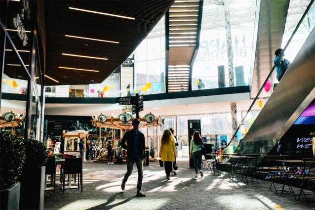 Winkelcentra kregen minder mensen over de vloer in eerste jaarhelft