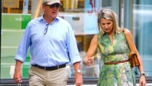 Net als gewone toeristen: koningin Máxima en koning Willem-Alexander gaan shoppen in New York