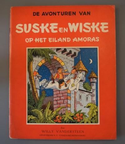 Recordbedrag voor oud stripalbum van Suske en Wiske