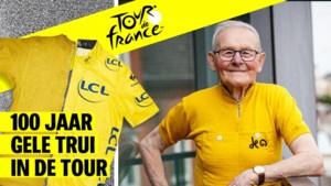 """Gilbert Desmet (88) is de oudste Belgische geletruidrager: """"Uwe Van Wijnendaele heeft mij mijn schoonste jaren afgepakt"""""""