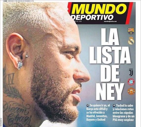 De transfersoap van Neymar dendert voort: nieuw (stevig) bod van Barcelona, maar er is een nieuwe kaper op de kust