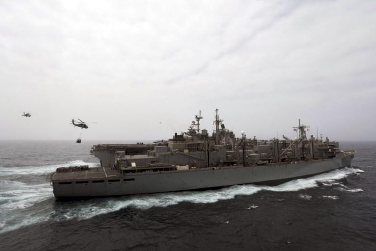 VS halen boven Straat van Hormoez een Iraanse drone neer