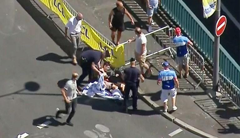 Wout van Aert houdt geen breuken over aan zware val in Ronde van Frankrijk