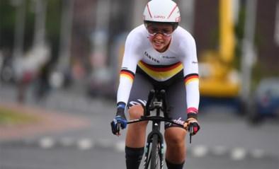 Lisa Klein wint proloog in BeNe Ladies Tour
