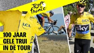 IN BEELD. De 10 meest iconische foto's van 100 jaar gele trui in de Tour de France