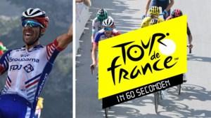 De Tour in zestig seconden: Frankrijk wordt helemaal gek, Thomas plooit en Jumbo-Visma is ook zonder Van Aert een machine