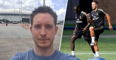 Onze man in de VS ziet hoe Eden Hazard (gezond) gespannen toeleeft naar zijn debuut