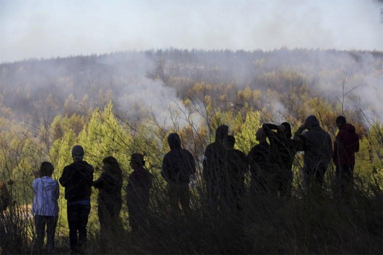 Meer dan duizend brandweermannen bestrijden bosbranden in Portugal: acht gewonden