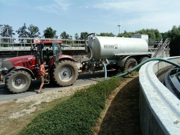Rioolwater moet soelaas brengen voor droge akkers