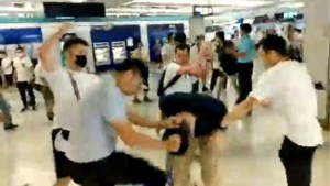 Taiwan veroordeelt geweld tegen manifestanten in Hongkong