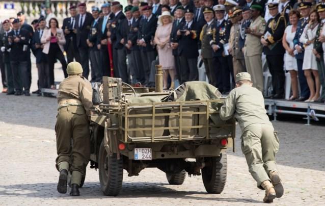 """En dan valt je jeep stil tijdens het nationaal defilé: """"Ik was zo gestresseerd dat ik zelfs niet naar de koning gekeken heb"""""""