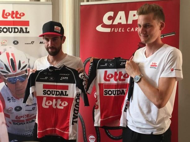 Lotto-Soudal stelt nieuwe truitjes voor volgend seizoen voor: naast rood en wit komt er ook zwart bij