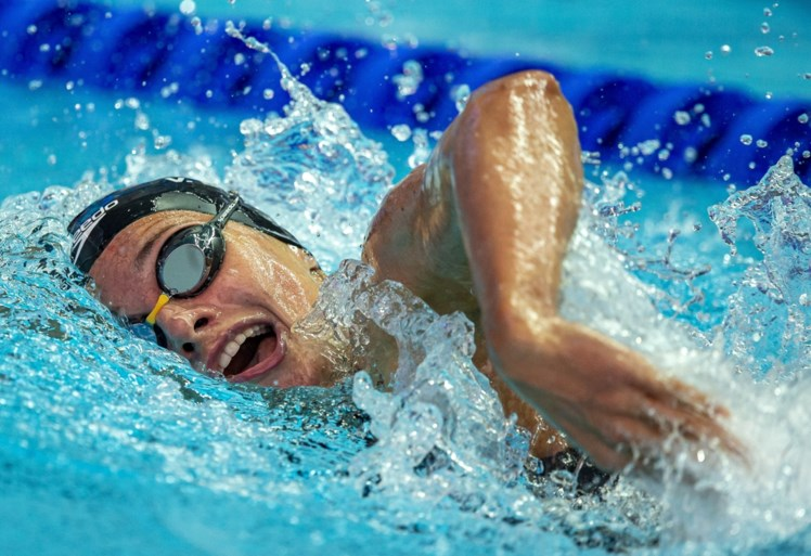WK ZWEMMEN. Louis Croenen pakt Olympisch ticket in Gwangju, Xu Jiayu en Kylie Masse verlengen wereldtitel