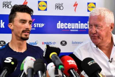 """Patrick Lefevere beleeft een wonderlijke Tour maar weigert te dromen van eindwinst: """"Ik zie Alaphilippe niet eens in de top vijf eindigen"""""""