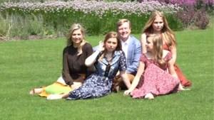 Doorschijnende jurk van Nederlandse prinses Amalia steelt de show