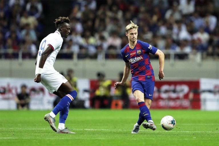 Chelsea, met Batshuayi, verbrodt debuut Griezmann en De Jong bij Barcelona