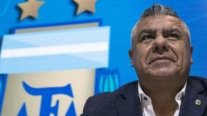 Voorzitter van Argentijnse voetbalbond gestraft na steunbetuiging aan Messi
