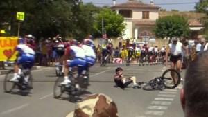 Tour-favoriet Geraint Thomas na val snel weer op de fiets