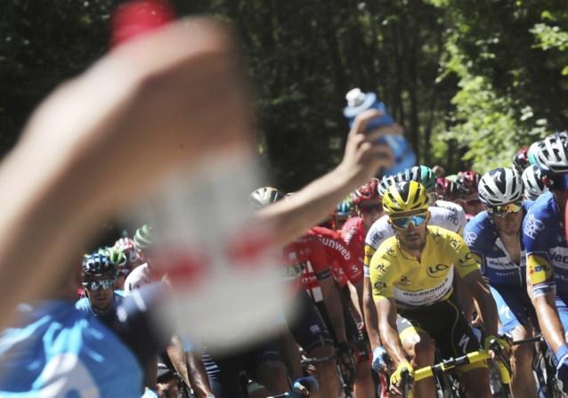 Tour de France neemt maatregelen tegen hitte: tijdslimiet wordt aangepast
