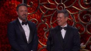 Matt Damon en Ben Affleck schrijven film voor zichzelf