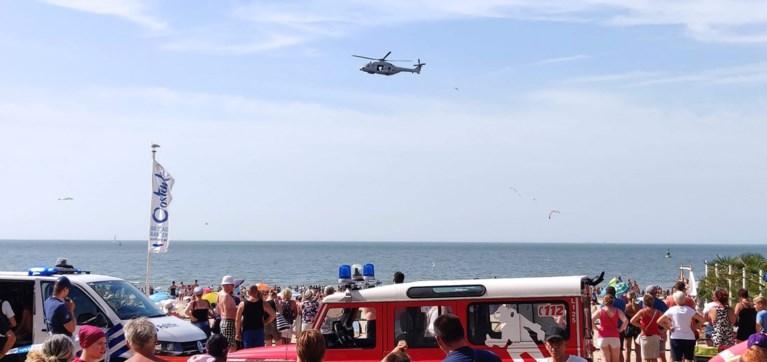 Vermist jongetje (8) slapend teruggevonden na urenlange zoektocht op strand van Oostende