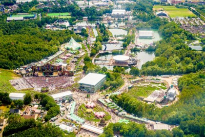 Tomorrowland geen fan van 'helikoptervluchten met champagne' boven het festival