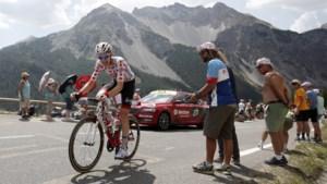 Na vijftien dagen verliest Tim Wellens de bollentrui aan Romain Bardet: voor het eerst geen Belg op kop in bergklassement in deze Tour