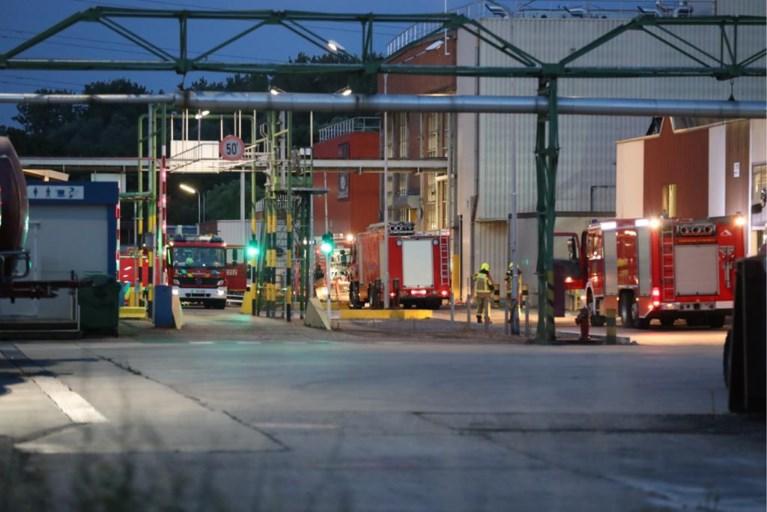 Incident bij olieverwerkend bedrijf in Ranst: brandweer massaal ter plaatse