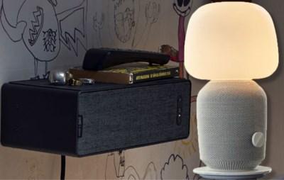 Er zit muziek in je meubels: onze gadget inspector test de luidsprekers van Ikea