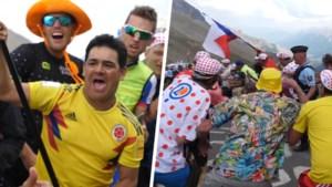 Onze man op zoek naar meelopers op de zwaarste cols in de Tour: wat drijft hen om zulke risico's te nemen?