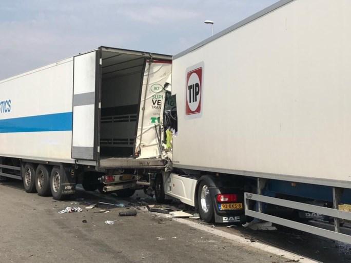 """E19 richting Breda volledig dicht door ongeval in Meer: """"File groeit snel aan, vermijd de omgeving"""""""