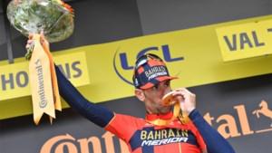 """Nibali redt op de valreep zijn Tour: """"Ik heb zelden zo hard afgezien"""""""