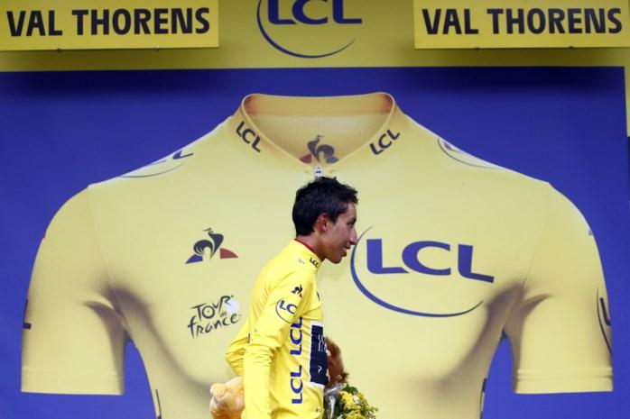 """Egan Bernal (22) is de eerste Latijns-Amerikaanse Tourwinnaar: """"Ik een legende? Ongelooflijk"""""""