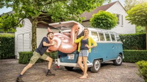 """Tine Embrechts en Guga Baúl helpen andere duo's aan de ideale reisbestemming in 'Goed verlof': """"Maar nu gaan we eindelijk zelf op vakantie"""""""