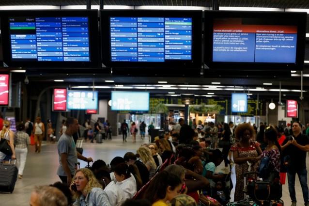Drie op de vijf treinen reed zaterdag, ondanks staking bij NMBS