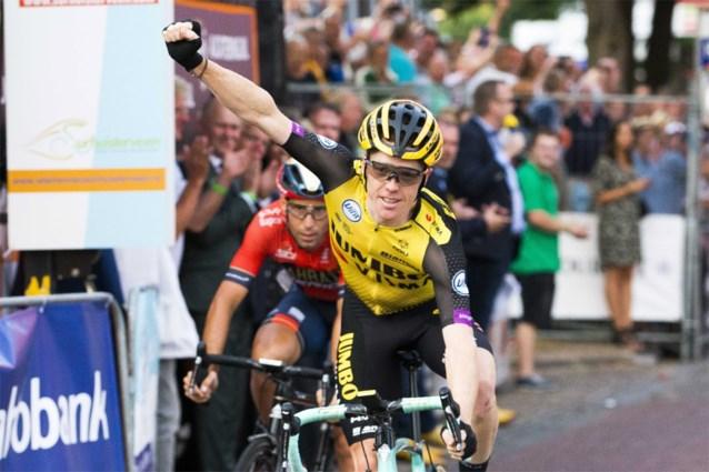 Steven Kruijswijk verslaat Vincenzo Nibali in na-Tourcriterium van Surhuisterveen