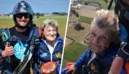 Marina Wally ziet eindelijk grote droom in vervulling gaan: uit een vliegmachien springen