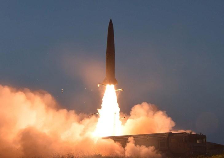 """Noord-Korea lanceert twee ballistische raketten: """"Schending VN-resoluties"""""""