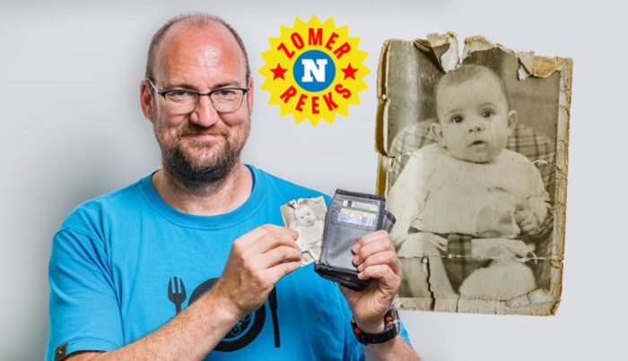 """Björn bewaart een kinderfoto van zijn vrouw: """"Ik ben net een half leven met haar getrouwd. Ze is letterlijk de vrouw van mijn leven"""""""