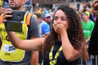"""Het schuchtere meisje in de schaduw van Tourwinnaar Egan Bernal: """"Ik hou ook van klimmen"""""""