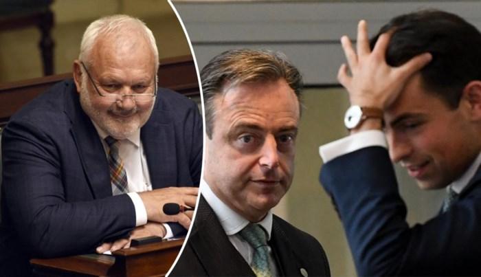 """Jean-Marie Dedecker zet druk op Bart De Wever: """"Hij moet de anderen duidelijk maken dat het ofwel met Vlaams Belang erbij is, ofwel zonder N-VA"""""""