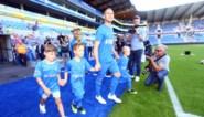 IN BEELD. Kippenvelmomenten tijdens afscheidswedstrijd van Thomas Buffel, met bekende namen en zijn zoontjes