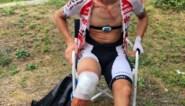 Belgische renner valt in ravijn tijdens koers naar La Planche des Belles Filles