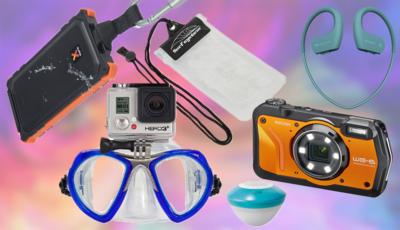 Zes handige gadgets voor op vakantie: nooit meer lege telefoonbatterij op het strand en waterdichte foto's