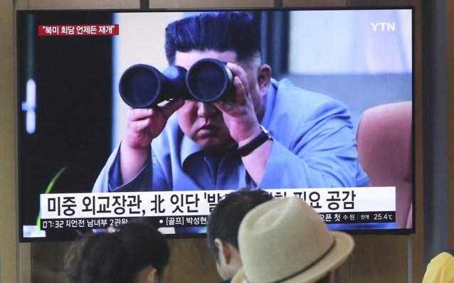 """Noord-Korea heeft al voor derde keer in één week """"projectielen"""" gelanceerd"""